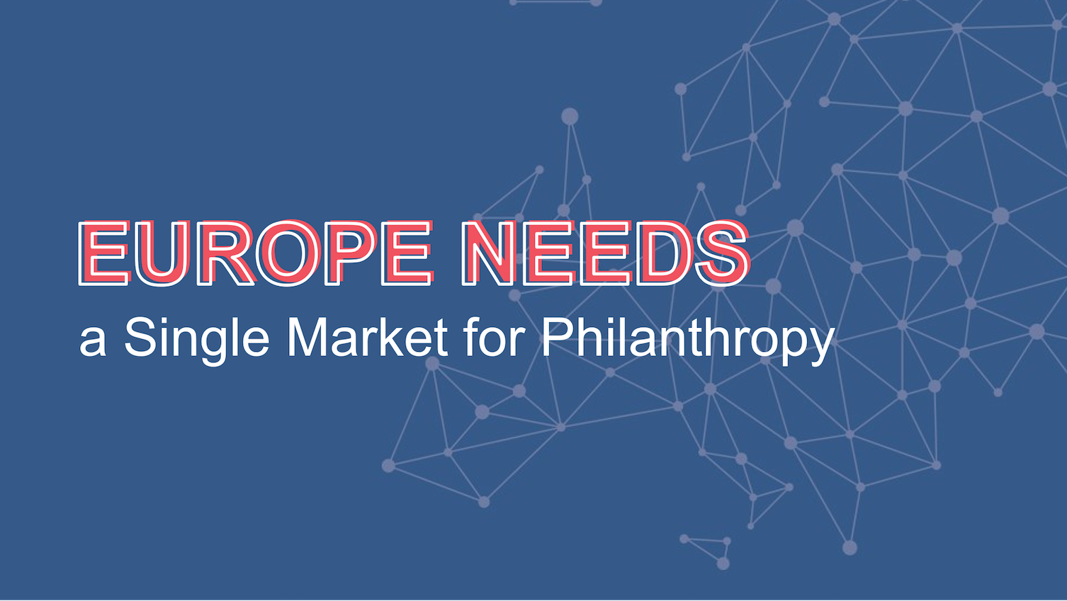 Single Market for Philanthropy
